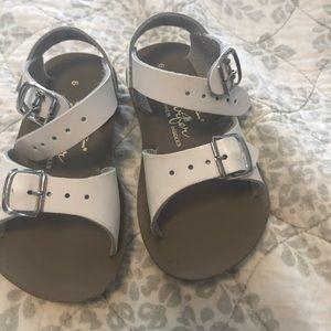 Sun San Surfer Sandals- Hoy shoes; white